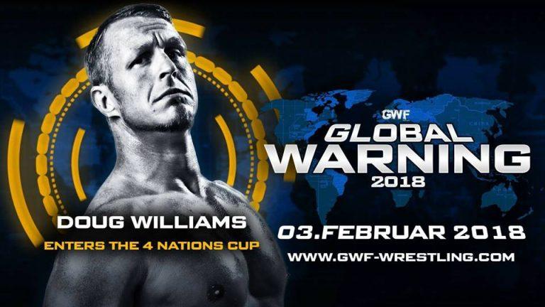 Doug Williams bei Global Warning 2018