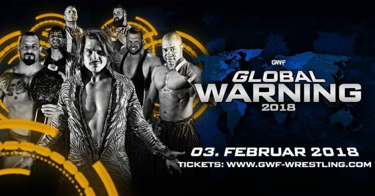GWF Global Warning 2018 am 3. Februar 2018 im Huxleys Neue Welt, Berlin