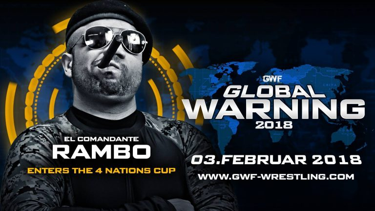 Rambo im 4 Nations Cup