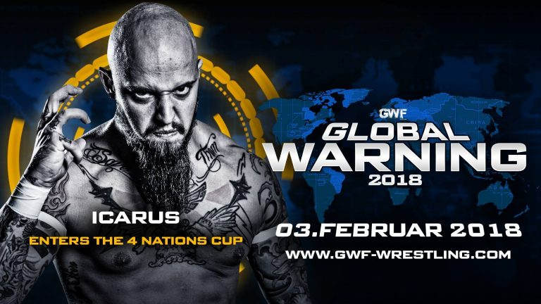 Icarus bei Global Warning 2018 im 4 Nations Cup Match