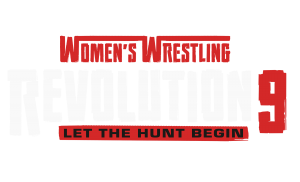 Revolution 9 - Let the hunt begin - logo