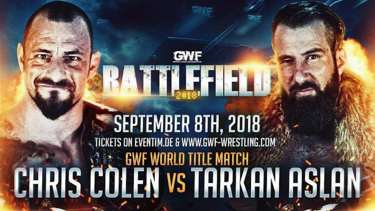 Der Nummer 1 Herausforder Tarkan Aslan trifft auf den GWF World Champion Chris Colen