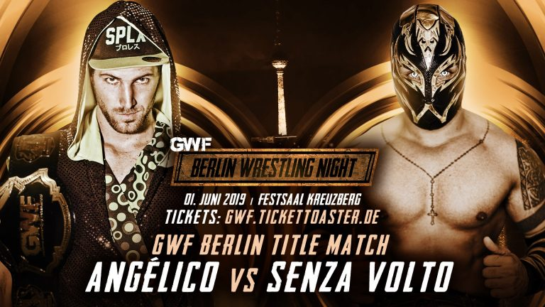Angelico vs Senza Volto - GWF Berlin Wrestling Night