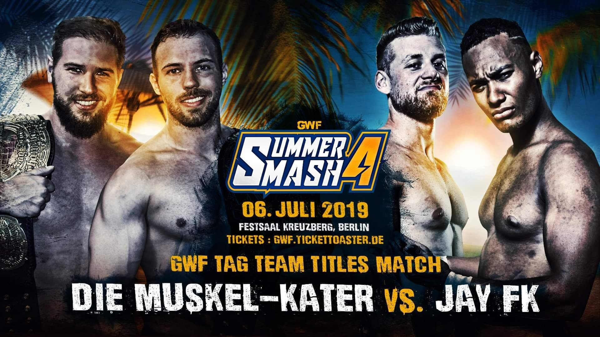 GWF Summer Smash - Muskel-Kater - Jay FK