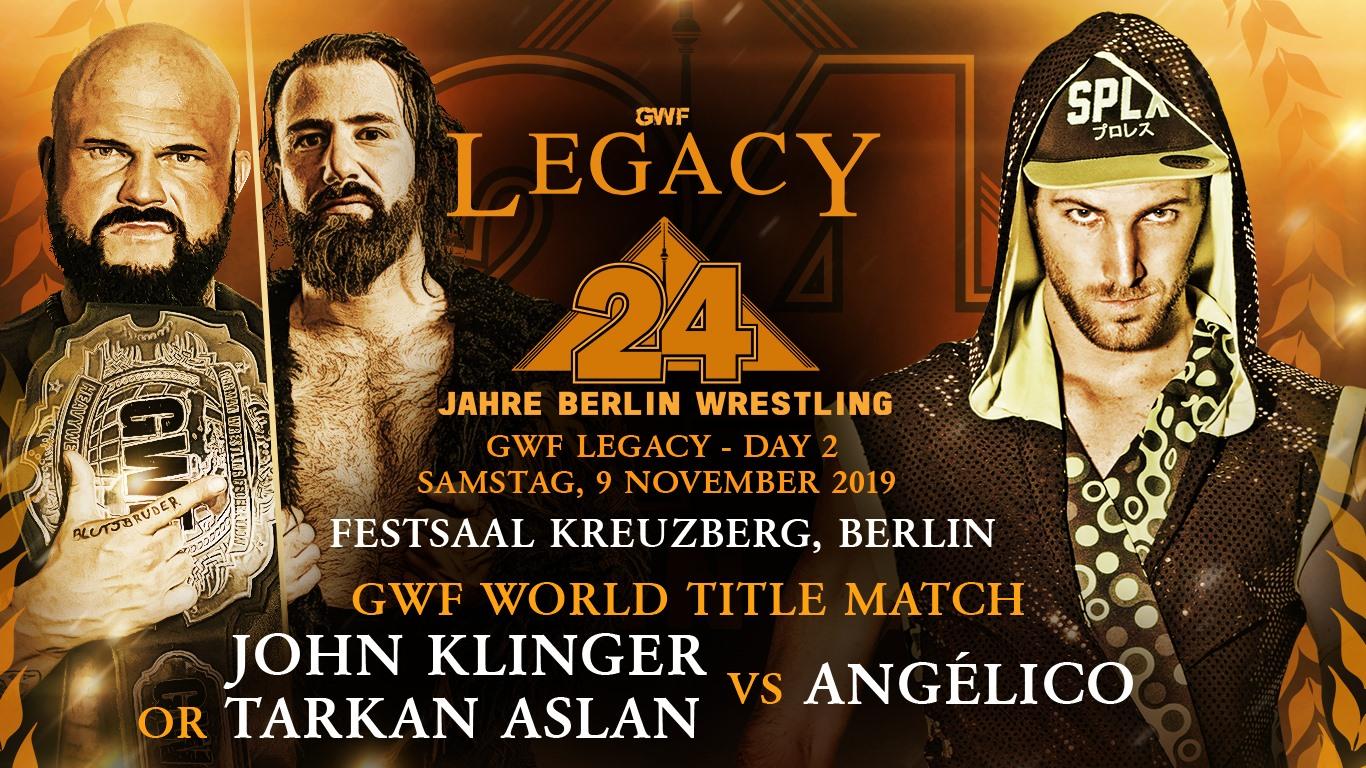 GWF Legacy - John Klinger Tarkan Aslan vs Angelico