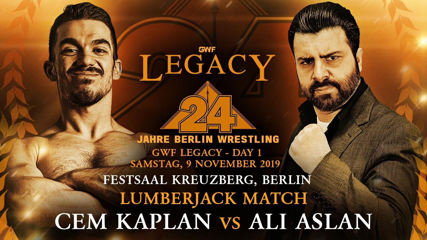 GWF Legacy - Cem Kaplan vs Ali Aslan