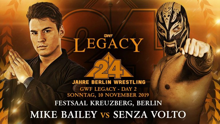 GWF Legacy - Mike Bailey - Senza Volto