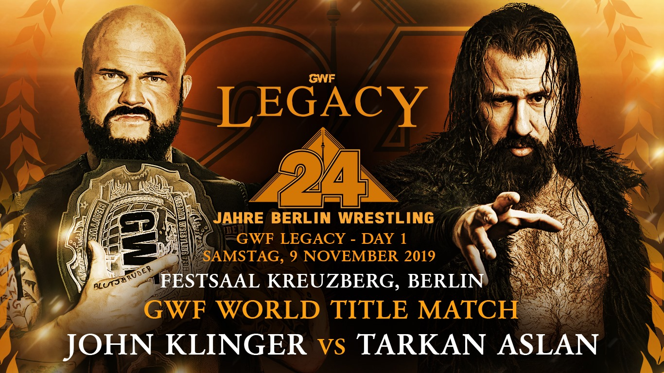 GWF Legacy - John Klinger vs Tarkan Aslan