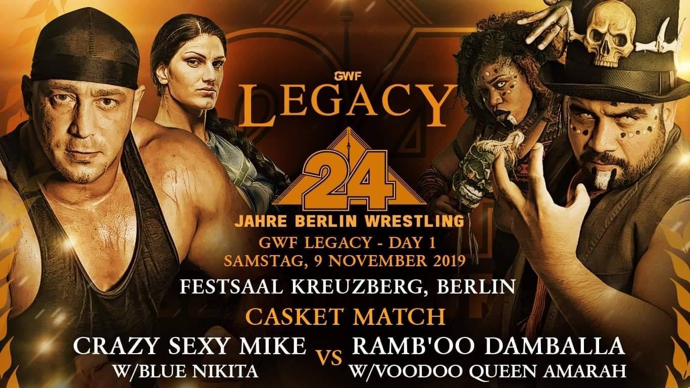 GWF Legacy - Crazy Sexy Mike vs Ramb'oo Damballa